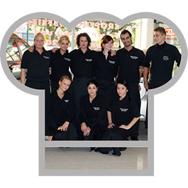 Rieger Catering Team
